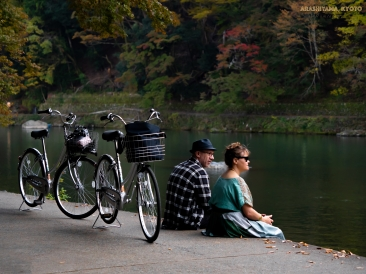 Arashiyama,second week of Nov, 2018, Kyoto, Kansai, Japan อาราชิยาม่า สัปดาห์ที่ 2 ของเดือนพฤศจิกายน, จังหวัดเคียวโตะ ภูมิภาคคันไซ, ประเทศญี่ปุ่น