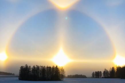 พระอาทิตย์ 4 ดวงจริงหรือ….(มีคลิป)